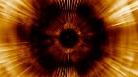 tunnel de lumière du rendu 3D Les lignes lumineuses s'éloignent rapidement de nous Images libres de droits