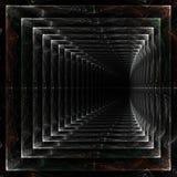 Tunnel de marbre sans fin Photo stock