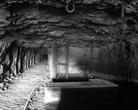 Tunnel de mine Image stock