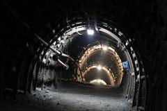 Tunnel de mine Photographie stock