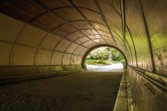 Tunnel de parc de perspective Image libre de droits