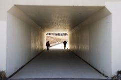 Tunnel de passage couvert Photographie stock libre de droits