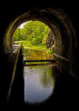 Tunnel de patte de patte de canal de C&O Photos libres de droits
