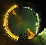 Tunnel de photo de grand Ben Images libres de droits