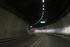 Tunnel de route Photo stock