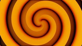 Tunnel de spirale de vortex de voyage Portail aux dimensions multiples Effet visuel de continuum d'espace-temps Mouvement animé Illustration de Vecteur