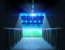 Tunnel de stade Images libres de droits