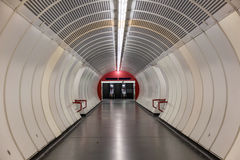 Tunnel de tube de Vienne Photo stock