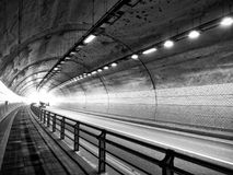 Tunnel de ville de la Corée Cheongju, tunnel de Kowloon photographie stock