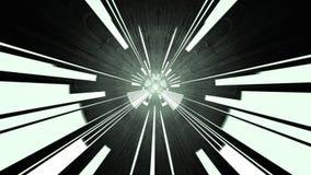 Tunnel del circuito, rappresentazione 3d Fotografia Stock Libera da Diritti