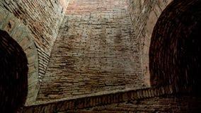 Tunnel del mattone Immagine Stock