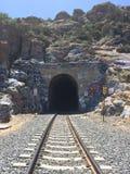 Tunnel del treno Immagine Stock Libera da Diritti