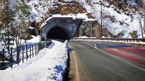 Tunnel dell'automobile Fotografia Stock