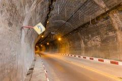 Tunnel dell'automobile Fotografia Stock Libera da Diritti