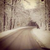 Tunnel della neve Fotografia Stock Libera da Diritti