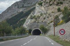 Tunnel della strada Fotografia Stock Libera da Diritti