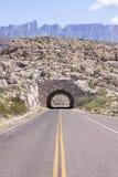 Tunnel della strada nel Texas Fotografie Stock Libere da Diritti