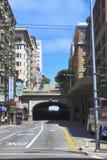 Tunnel della via di Stockton - San Francisco - California fotografia stock libera da diritti