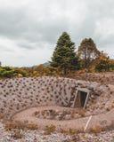 Tunnel dentro della collina Fotografie Stock Libere da Diritti