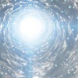 Tunnel der Leuchte Stockfotos