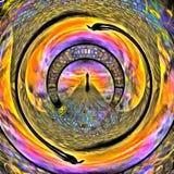 Tunnel des âmes Illustration Libre de Droits