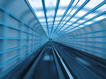 Tunnel des Gleiss stockbilder