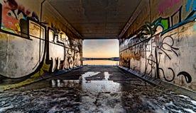 Tunnel di Fotografie Stock Libere da Diritti