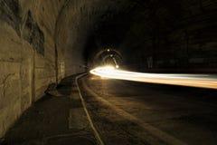 Tunnel di Balea Fotografie Stock