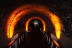 Tunnel di Cijin nell'isola di Cijin, Kaohsiung, Taiwan fotografia stock libera da diritti