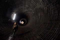 Tunnel di drenaggio immagini stock libere da diritti