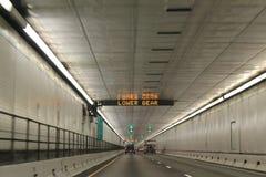 Tunnel di Eisenhower in Colorado fotografie stock libere da diritti