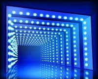 Tunnel di illuminazione Illustrazione di vettore Fotografia Stock Libera da Diritti