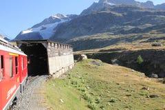 Tunnel di legno svizzero Immagini Stock