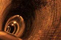 Tunnel di pietra Fotografia Stock