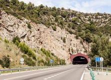Tunnel di Pirenei Immagine Stock Libera da Diritti