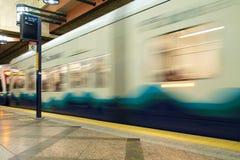 Tunnel di transito di Seattle Immagini Stock Libere da Diritti