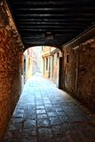 Tunnel di Venezia Fotografia Stock