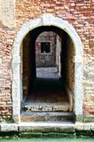 Tunnel di Venezia Fotografia Stock Libera da Diritti
