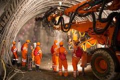 Tunnel die piperoof voegen stock afbeeldingen
