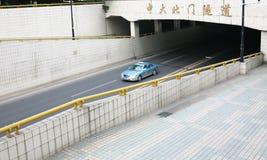 Tunnel du trafic Images libres de droits