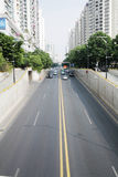 Tunnel du trafic Photo stock
