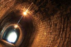 Tunnel en pierre Photographie stock libre de droits