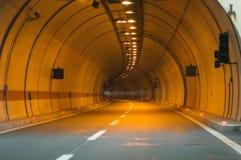 Tunnel entrance Stock Photo
