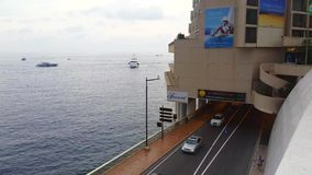 Tunnel Entrance of Monaco stock video footage