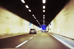 Tunnel expressway Royalty Free Stock Image