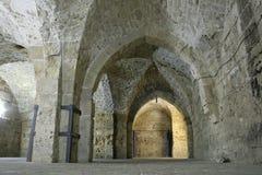 tunnel för jerusaleriddaretempler Royaltyfri Fotografi