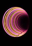 tunnel för neonrör Royaltyfria Bilder