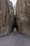 Tunnel för visarögonväg arkivfoton
