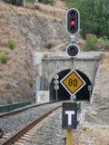Tunnel ferroviario Immagini Stock Libere da Diritti