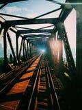 Tunnel ferroviario fotografie stock